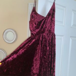 Urban Outfitters Velvet Romper PERFECT CONDITION